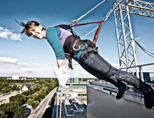 Haus-running-munich-münchen-adreneline- free-fall-fun-games-in-munich-rilando-hotel